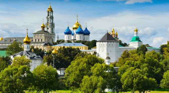 Sergijev Posad – klášter svaté trojice