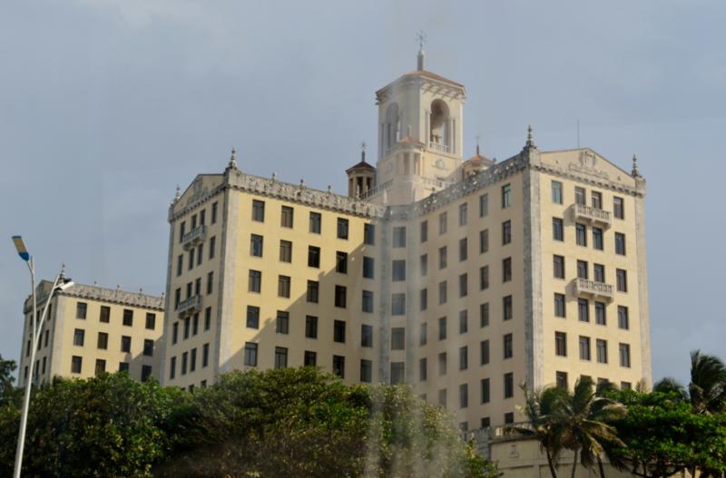 Moje cesta Kubou – 2. část (1. den) – Návštěva dvou z nejkrásnějších měst na Kubě – Matanzas a Havany. Jeden z nóbl hotelů u pobřeží - hotel Nacional.