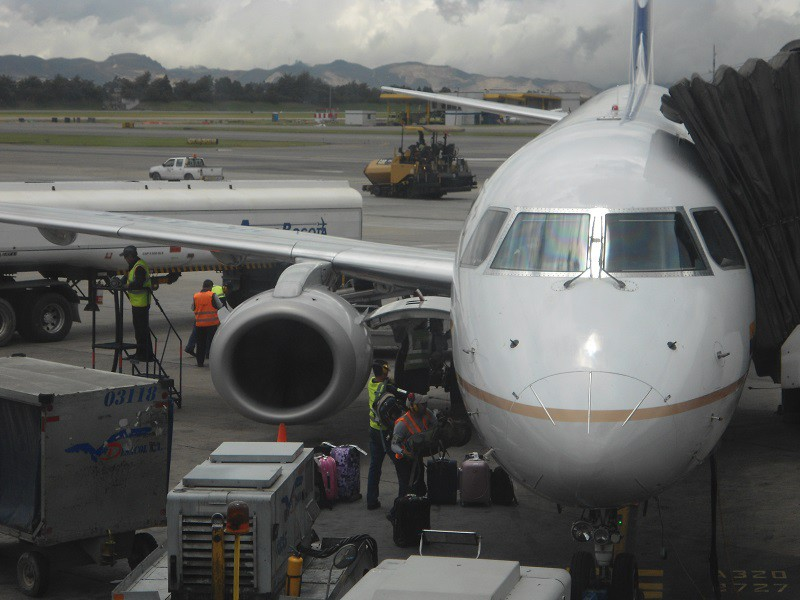 Letadlo Santa Marta