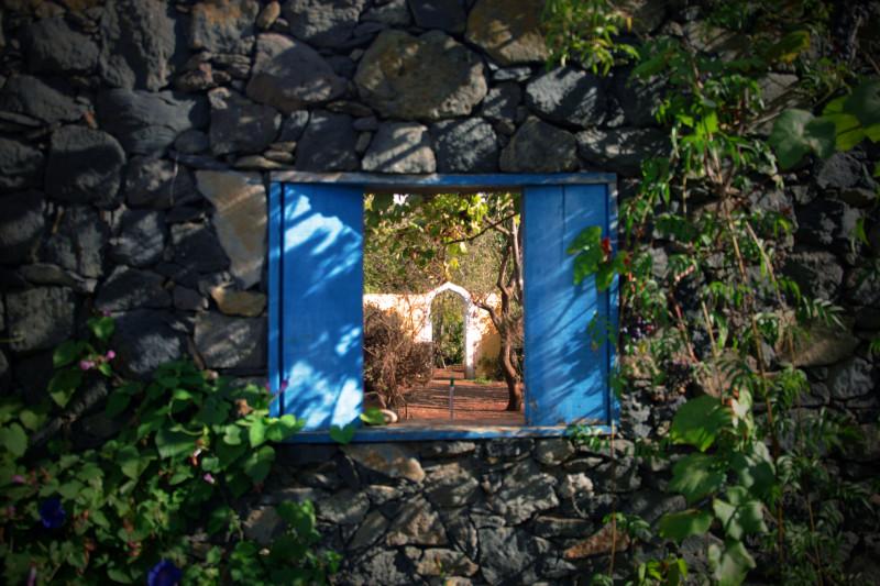 Okno do ráje, La Palma, Kanárské ostrovy.
