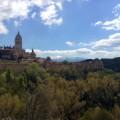 Město Segovia, Španělsko