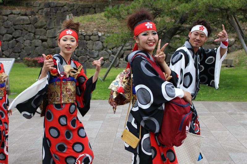 Samurajský festival v Kanazawě, Japonsko
