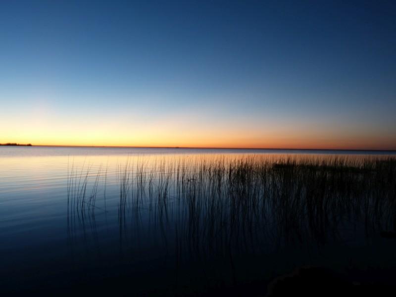Na Jawě napříč Jižní Amerikou ve stopách Čechů – Argentina. Pohled na lagunu v Colonia Carlos Pellegrini.