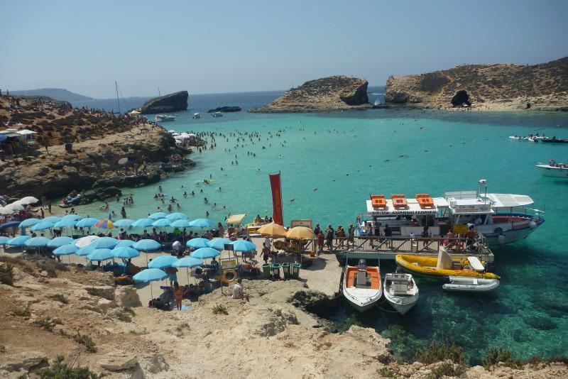 Na Maltě se z vás asi milionáři nestanou, ale příroda vám to zde vynahradí