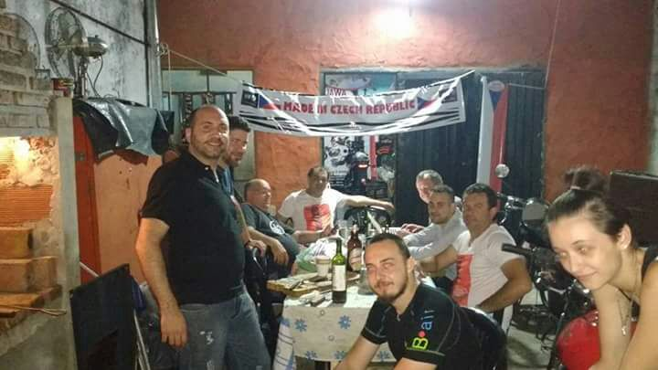 Večeře v Rosario.