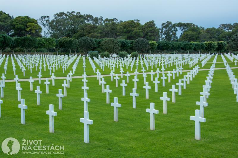 Fotoreport z cesty napříč Tuniskem – Americký hřbitov.