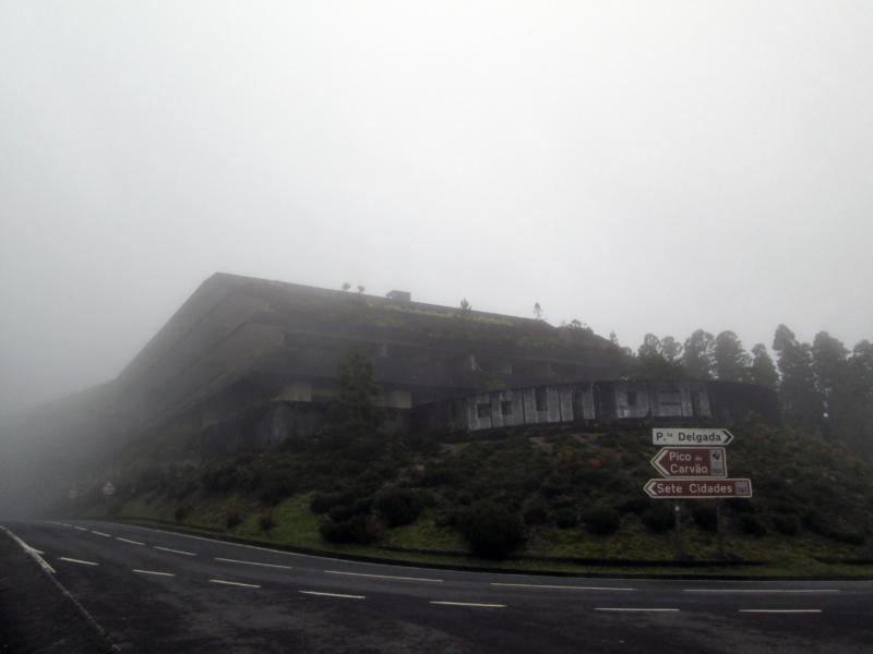 Opuštěný hotel v Sete Cidades
