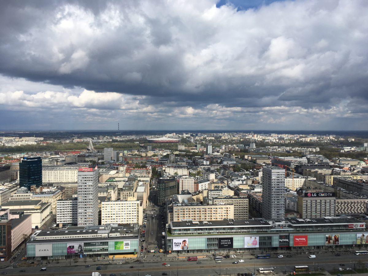 Pohled z vyhlídkové terasy