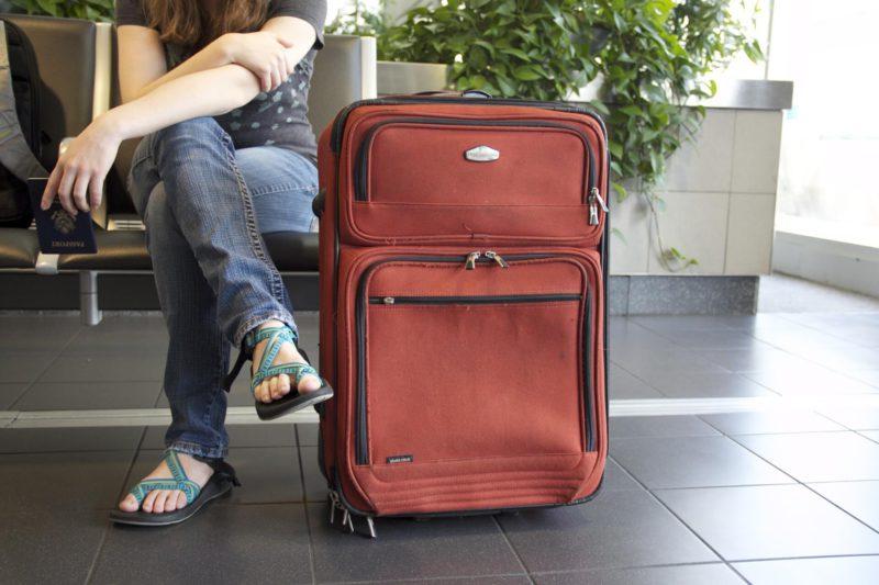 Cestujeme letadlem krok za krokem - zavazadlo