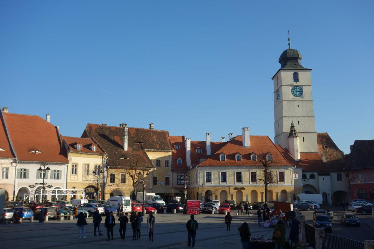 Piata Mare v Sibiu.