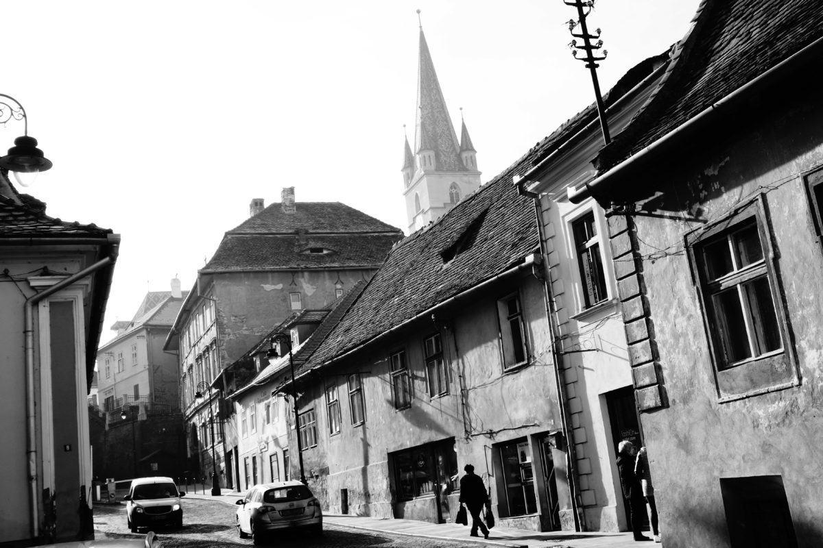 ulice v Sibiu