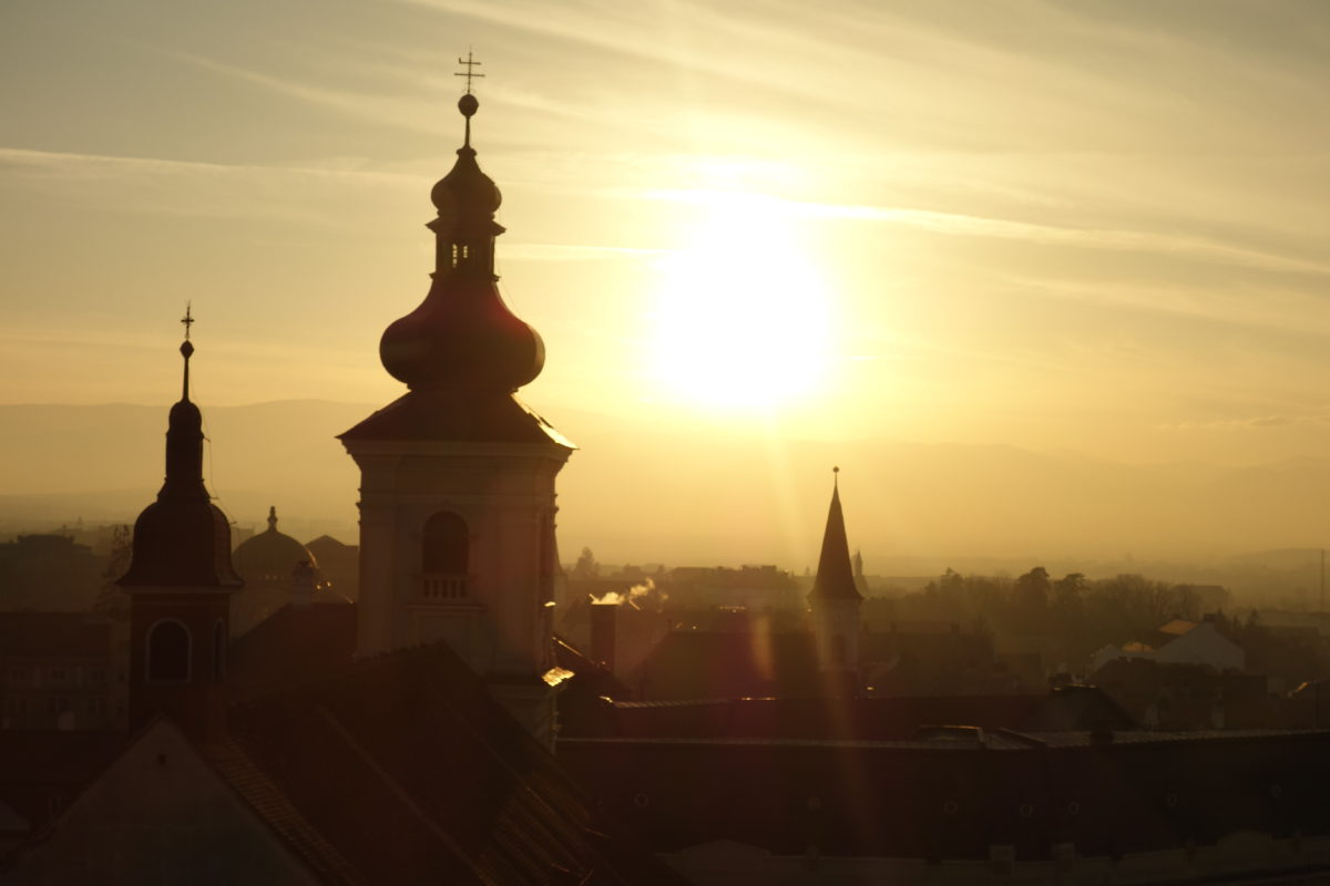 Kostel v Sibiu