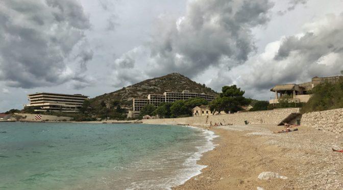 Kupari – bohem (i lidmi) zapomenutá pláž