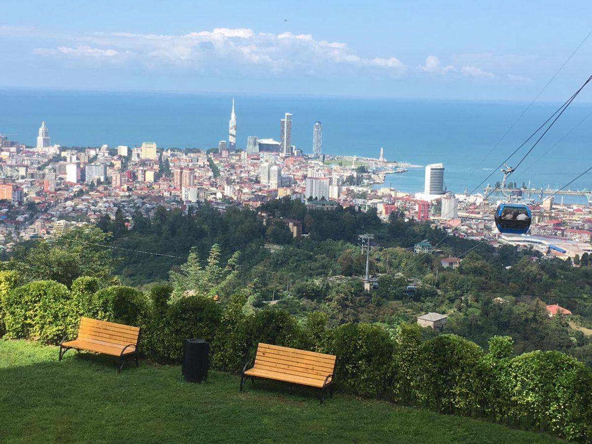 Lanovka Argo cable car v Batumi