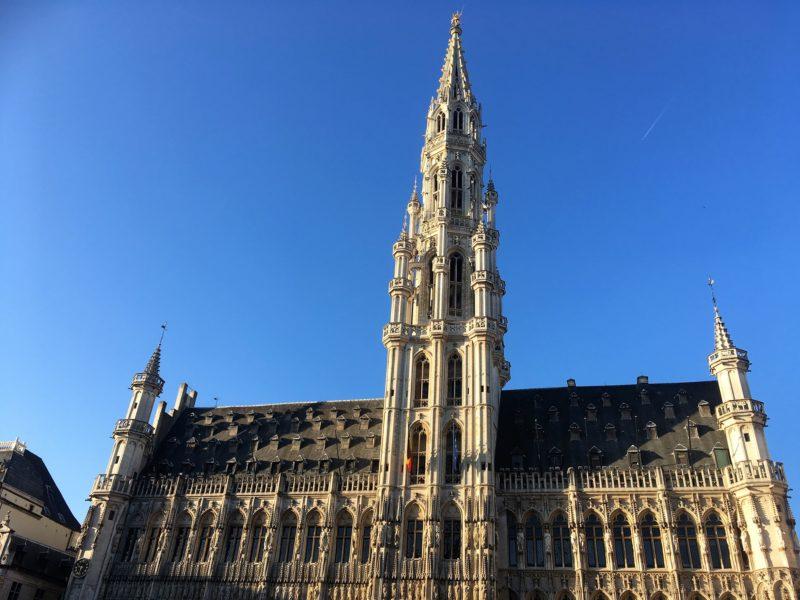 Náměstí Grande-Place v Bruselu