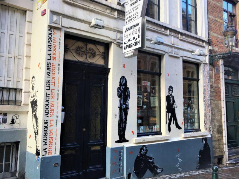 Brusel nejsou jen profláknutá místa. Jsou tu zajímavé obchůdky, antikvariáty či bazary s muzikou