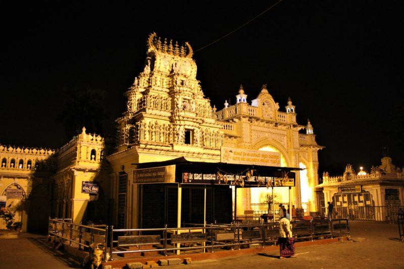 Jeden z 8 chrámů (Kote Sri Anjaneya Swamy Temple)