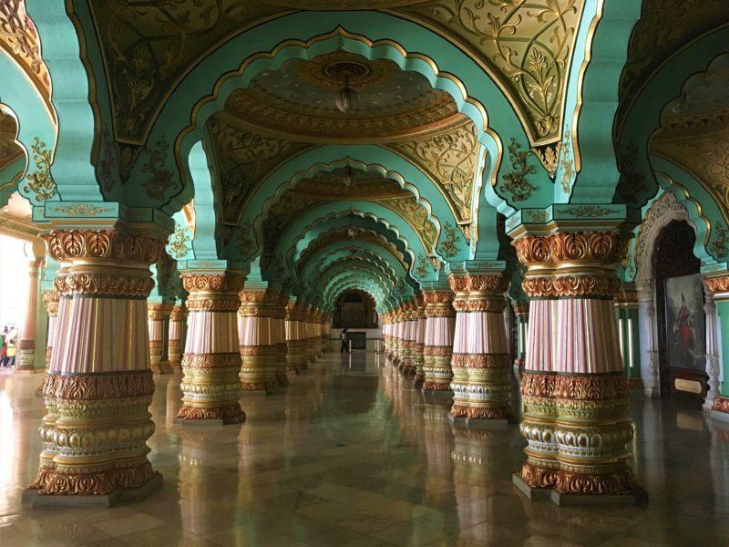 Interiéry paláce (Audience Hall)