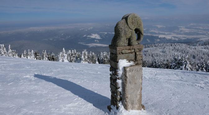 V zimě přes Návrší na Kraličák