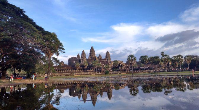 Jak se vyhnout davům v Angkor Watu, Kambodža