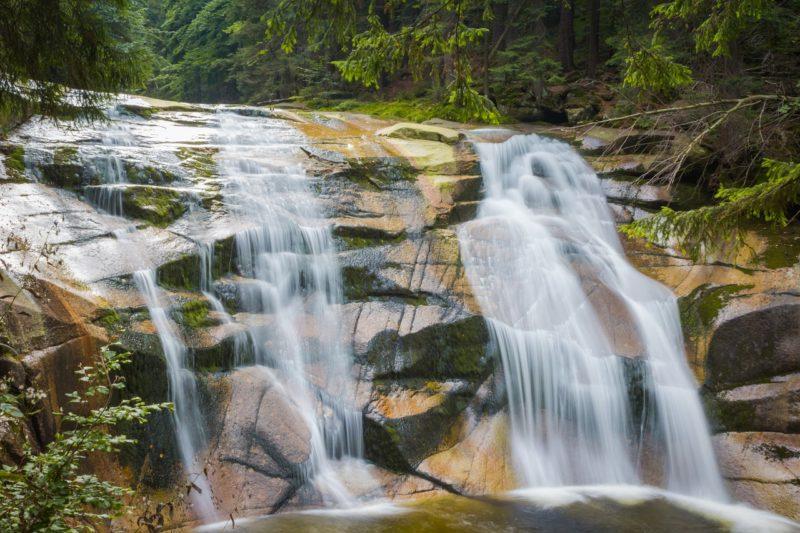 Letní výlety po Krkonoších: Mumlavské vodopády