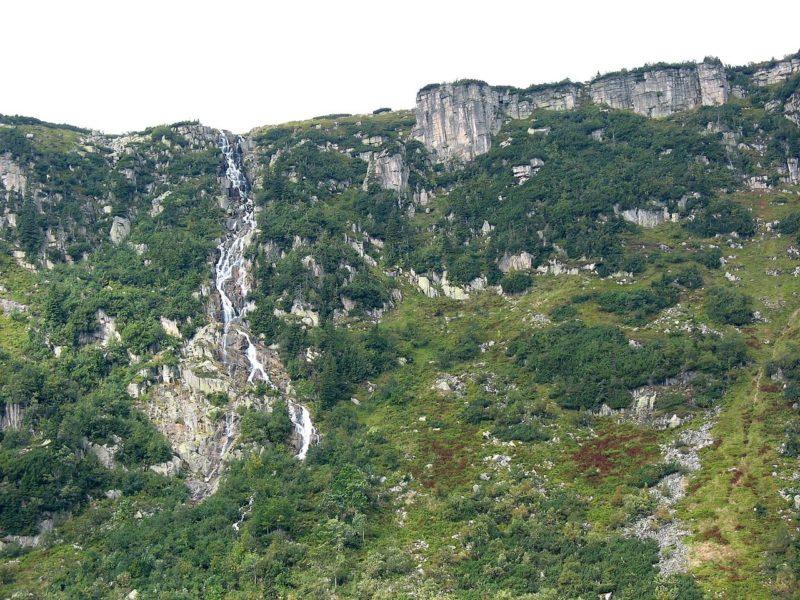 Letní výlety po Krkonoších: Pančavský vodopád