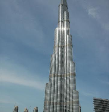Burj khalifa výška