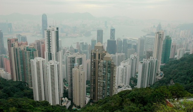 Victoria Peak, Hong Kong (foto: Kamil Pichler)