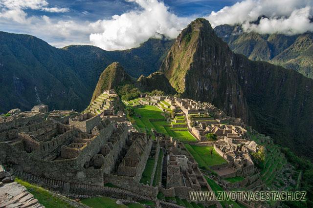 Bájné město Inků – Machu Picchu, Peru #MachuPicchu #Peru #JižníAmerika