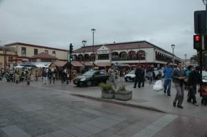 Náměstí a tržnice v La Serena, Chile