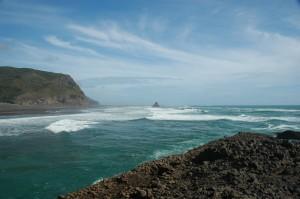 Karekare Beach, Nový Zéland