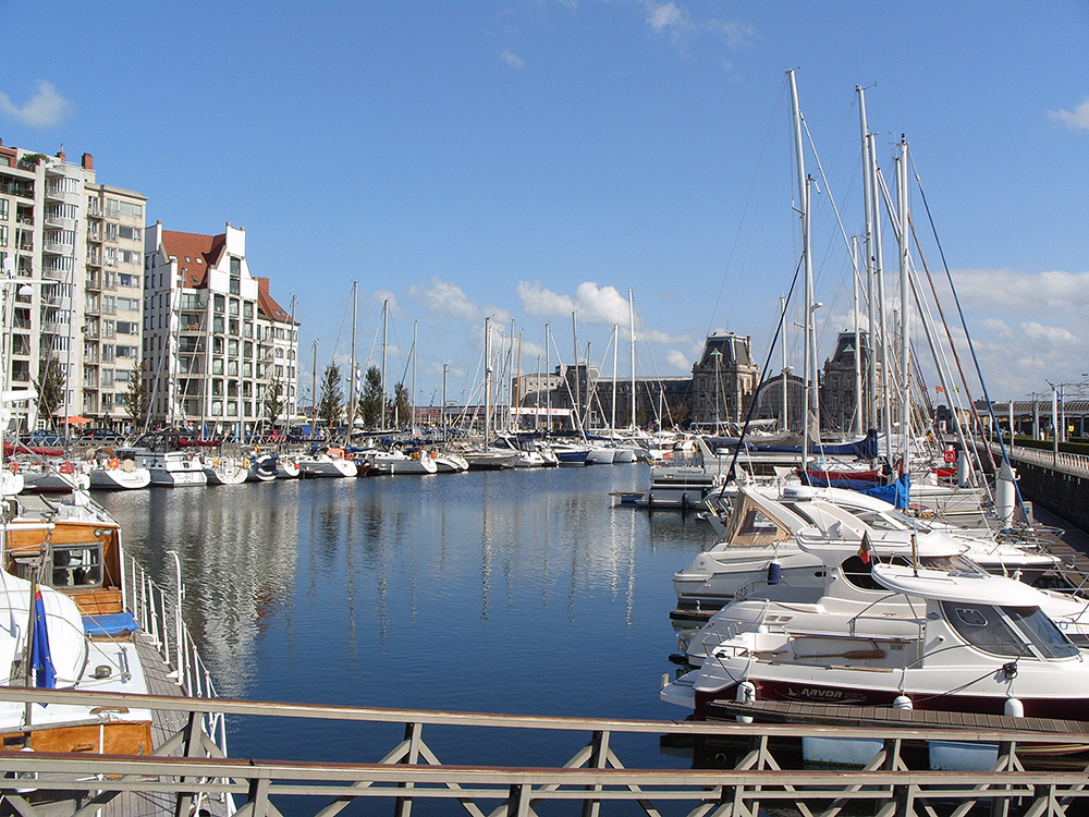 Oostende, marina