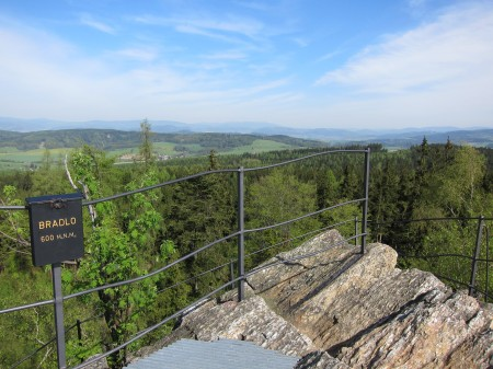 skalní vrch Bradlo, Zábřežsko