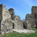 Zachované části hradu Brníčko
