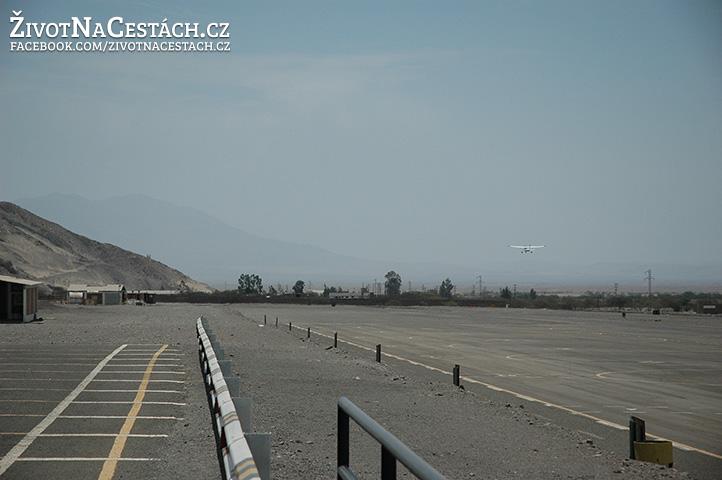 Nazca Lines - start letadla