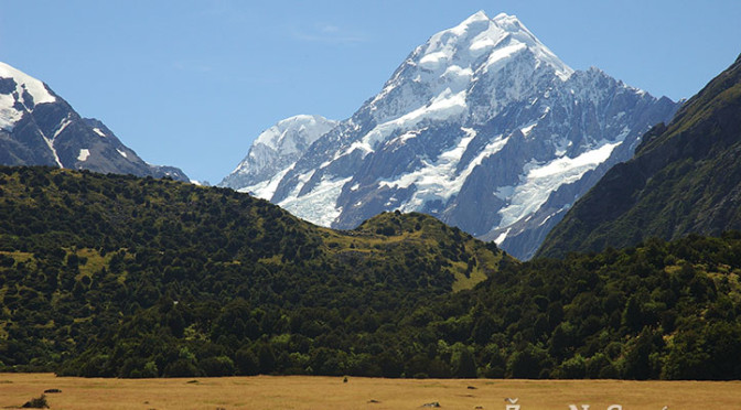 Mount Cook National Park, Nový Zéland
