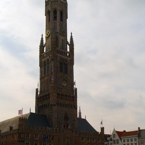 Belfried, Bruggy, Belgie