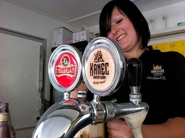 Zámecký pivovar Břeclav vaří piva Delegát a Kanec