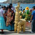 Jezero Titicaca - bolivijská strana jezera
