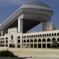 Mall of the Emirates - celkový pohled na centrum a sjezdovku