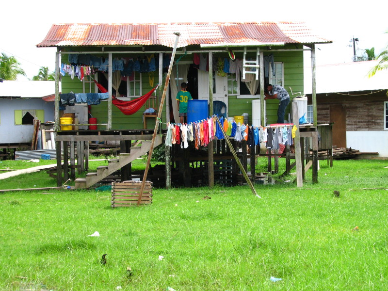 Dům na ostrově Isla Carenero