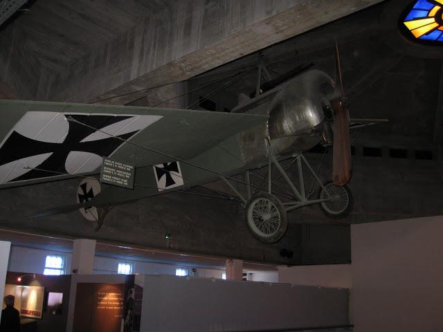 Fokker E3, jeden z mála jednoplošníků ve světové válce