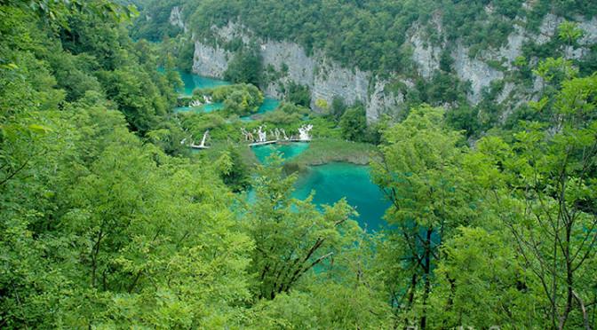 Národní park Plitvická jezera – místa, kudy kráčel Vinnetou