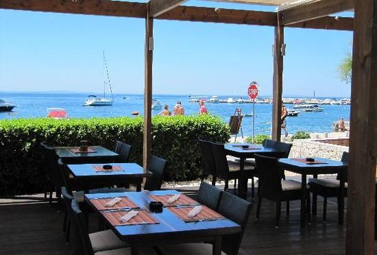 Laguna Restaurant, Novalja, ostrov Pag, Chorvatsko