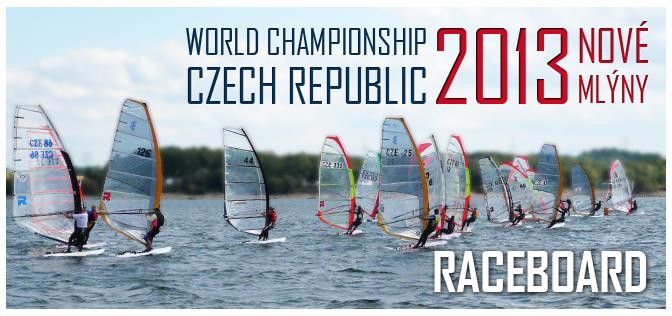 Raceboard 2013 – Mistrovství světa ve windsurfingu, Nové Mlýny, Jižní Morava, Česká republika
