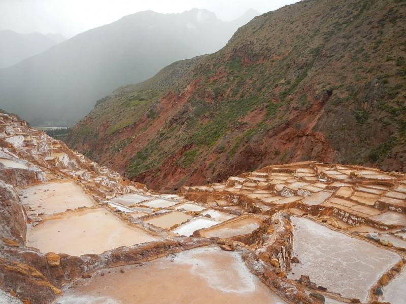 Solné jezírka Maras, Peru