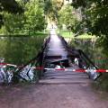 Spadlý most k Janohradu