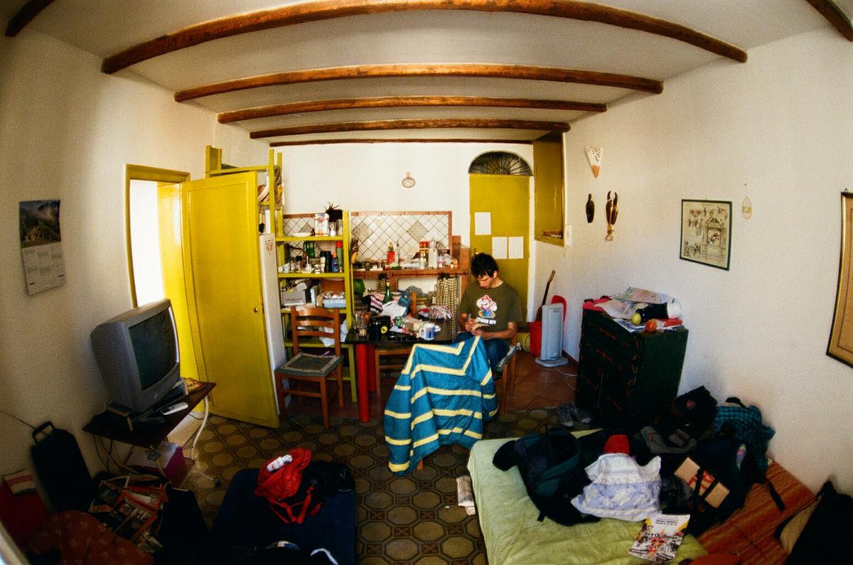 Byt v centru Palerma určený pouze pro couchsurfery