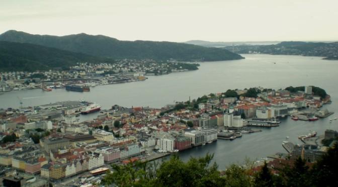 Bryggen, Bergen, Norsko