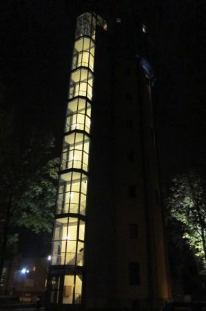 Penzion ve věži - zrekonstruované prostory schodiště